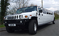 H2 Hummer limo hire